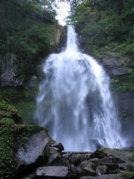 銚子滝 水量多い